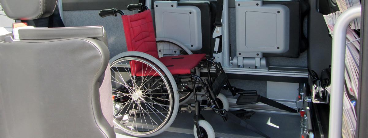 Chaise pour personnes handicapées