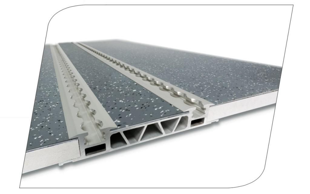 Nouveau plancher Rail-in